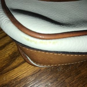 COACH Bags - Coach Beige and Brown Leather Crossbody C4B-4225